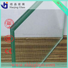 Shahe Haojing Glass high quality laminated glass canopy