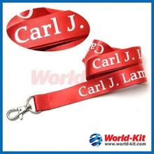 hgih quality nylon lanyards/Badge Holders &fashion leather lanyard id card badge holder