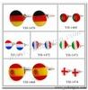 YH-1468 Novelty Flag Cufflinks,Spain,Portugal,Germany,Netherlands,France,,Italy,Switzerland