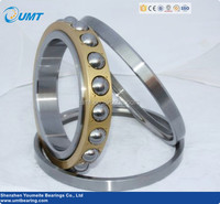 Separating ball bearing high speed high precision QJ217 4 point angular contact ball bearing