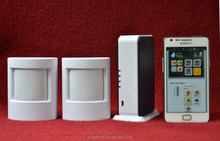 IP based wireless alarm system with home automation