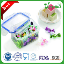 High Quality Clear rectangle Food Grade Plastic Container