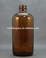 Âmbar farmacêutica frasco de vidro 500 ml e 1000 ml