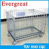 Folding Steel Wire Container Steel Wire Mesh Cage Gitterbox