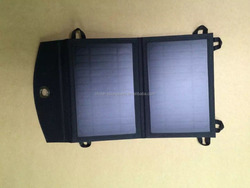 Newest design and fashionable waterproof light weight portable folding solar charger devices