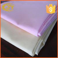 t/c65/35 80/20 cvc combed white and dyed pocketing shirting poplin fabric