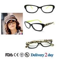 2015 fashion model eyeglasses online prescription handmade acetate eyewear vintage optical frame classic eyewear for ladies