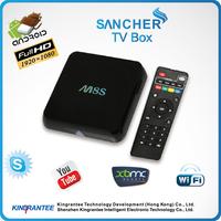 m8 amlogic s802 quad core android 4.4 smart tv box,wifi tv smart box