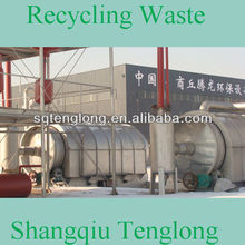 free-pollution waste plastic to diesel with sulfur remove system