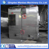 Full automatic stainless steel fish smoking house machine with PLC control system manufacturer from China