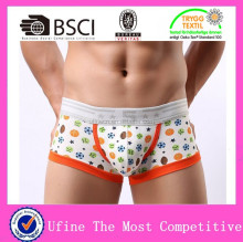 Cotton animal cartoon print men underwear low waist sexy man underwear