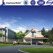 High resolution architectural design building 3d animation and 3d rendering