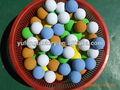 Eva suave pelota de espuma, numero de espuma de goma bola, color bola que despide