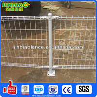 Powder Painting Welded Double Ring Fence
