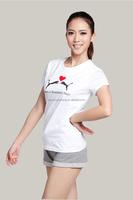 OEM Service 100 Cotton Clothing Women T Shirt