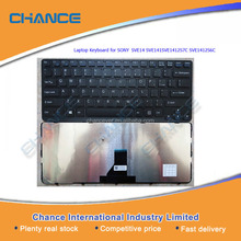 Factory Directly US Laptop Keyboard for SONY SVE14 SVE141SVE1412S7C SVE1412S6C