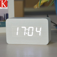 Usefull binary led garden clock for business gift