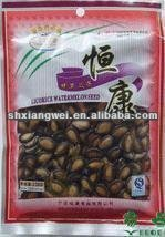 2012 best-selling Eco-friendly plastic bag with zipper for food