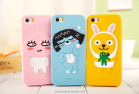 Silicone 3D Cute KAKAO FRIENDS Cartoon Phone Case For iPhone6/6 PLUS/5