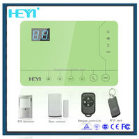 32 wireless zone + 4 wired zones alarm system/support Iphone/Android app intelligent gps gsm car alarm and tracking system