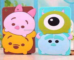 3D Cute case for ipad mini, silicone cover for ipad mini Smart design