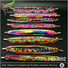 2014 hot sale Brazilian style magnetic hipanema bracelets