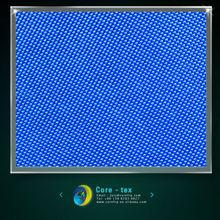 Blue surfboard glass fiber fabric