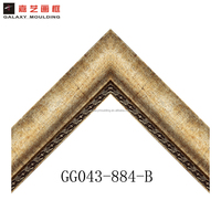 Fashion PS picture frame moulding with beveled mirror