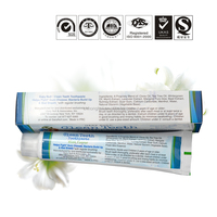 chinese FDA approved toothpaste production costs