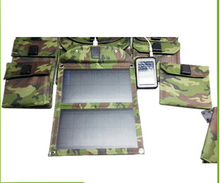 5W mini portable sunpower folding solar panel