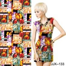 Custom Digital Printing 95%C5%SP Lycra Spandex Cotton Knitting Fabrics