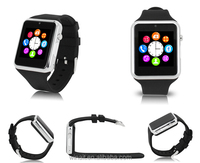 3mp camera 8 ROM bluetooth watch smart watch phone with skype for Android and ios