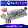 Vegetable Production Line IQF Spiral Food Frozen Freezing Equipment