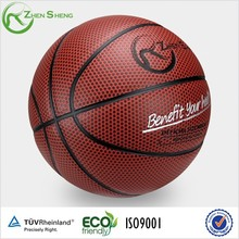 Zhensheng PU Basketballs Played on Plastic or Wood Floor