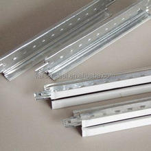 Ceiling grid of prepainted galvanized steel T bar with 32H wide panel