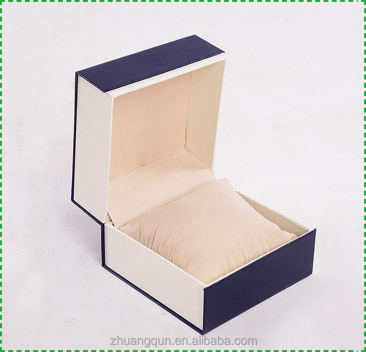 무료 샘플 사용자 정의 하나의 시계 상자, 종이 시계 상자 베개
