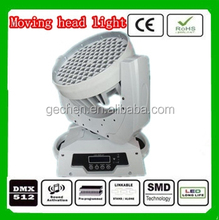 108x3w led moving head light RGB mixing color