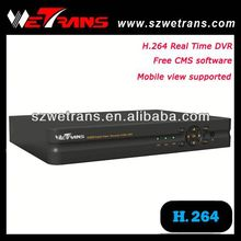 WETRANS TD-5240B Stand alone Network Real Time H 264 DVR 4 Channel VGA Mobile