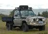 4x4 airflow car snorkel kit for 76 series, 1985-2007 Toyota pickup LC76, Diesel engines