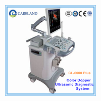 "19"" approved 4D Digital Ultrasound Machine scanner Color Doppler with DICOM 3.0"
