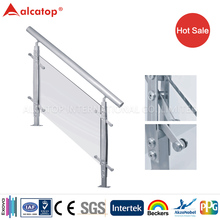 indoor and outdoor stainless steel rail for floor