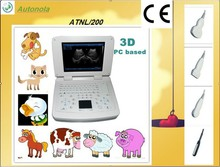 good-looking device&ATNL200 Vet Full-Digital Notebook Ultrasonic Scanner with pc and 3D optional/3d handheld scanner