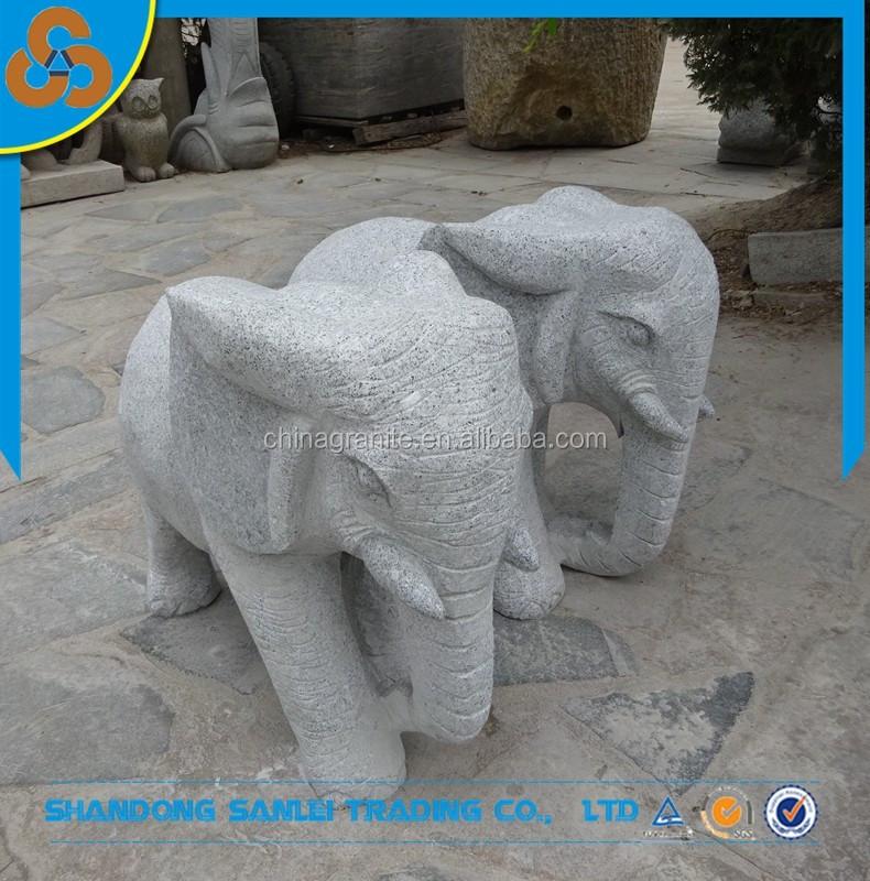 grey granite elephant