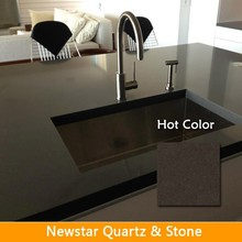 Foshan factory quartz countertop polish high quaility