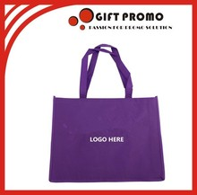 Best Selling Purple Shopping Bag Non Woven Bag