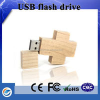 Latest products in market cross shape usb flash drive with gift boxes wholesale