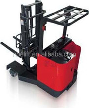 2.5T AC power 4 - way red color new condition reach lift hydraulic power truck