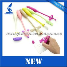 bright colors flexible bendy head animal pen