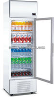 400L retail store cooler display
