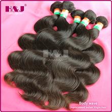 2015 Hot New Product H&J Cheap Virgin India Hair